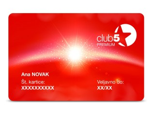 Premium članstvo v klubu Club 5* Top Shop